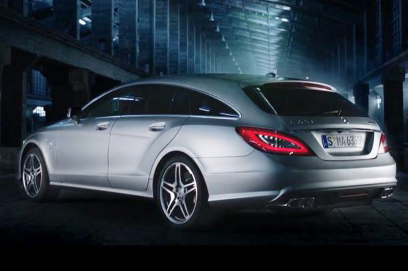 2013 Mercedes Benz Cls63 Amg Shooting Brake Leaked Video