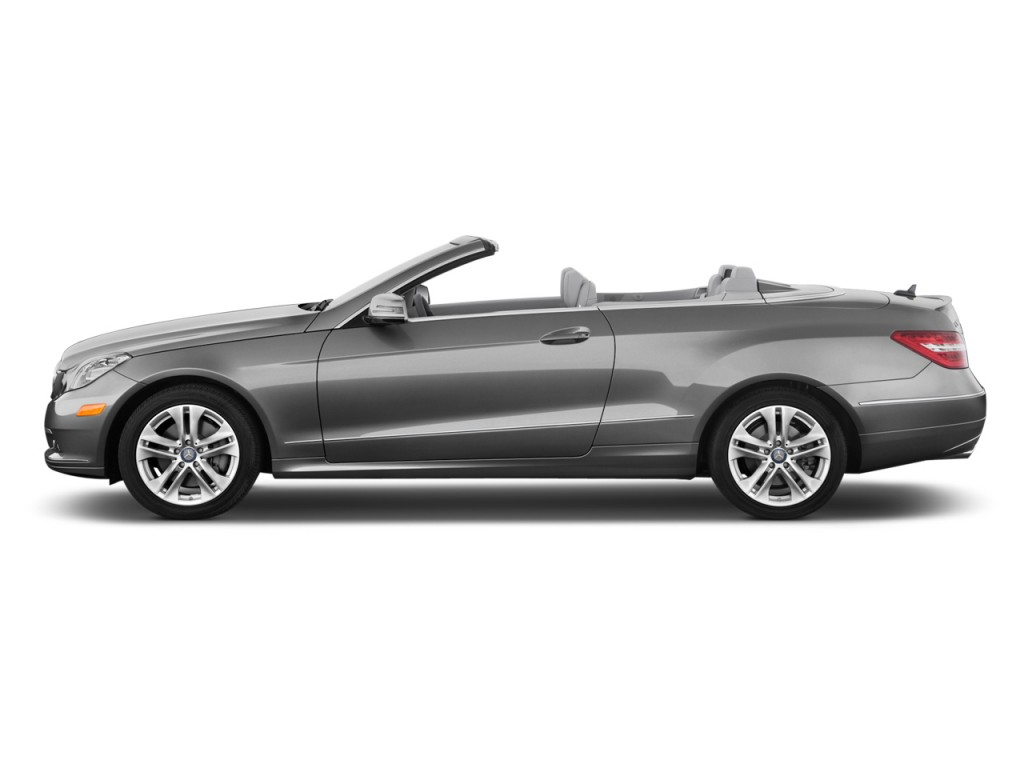 Side exterior view 2013 mercedes benz e class 2 door cabriolet e350