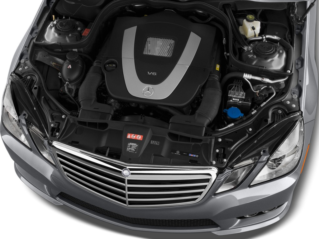 Engine - 2013 Mercedes-Benz E Class 4-door Sedan E350 Sport RWD
