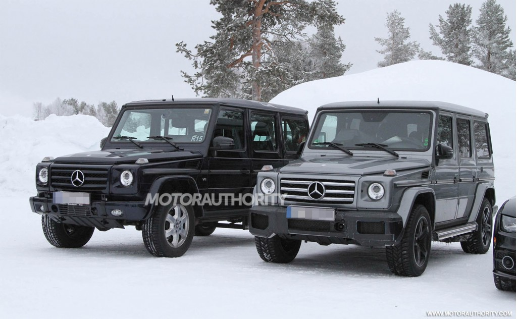2013 mercedes benz g63 amg spy shots for G63 amg mercedes benz