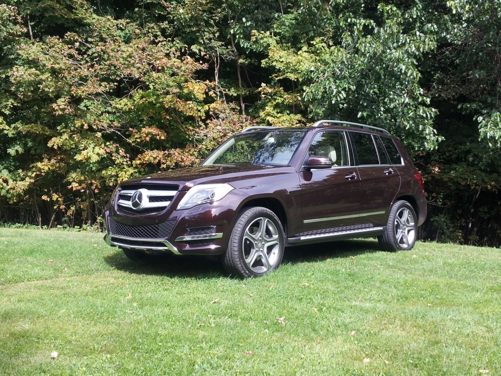 mercedes benz glk 250 bluetec diesel luxury crossover