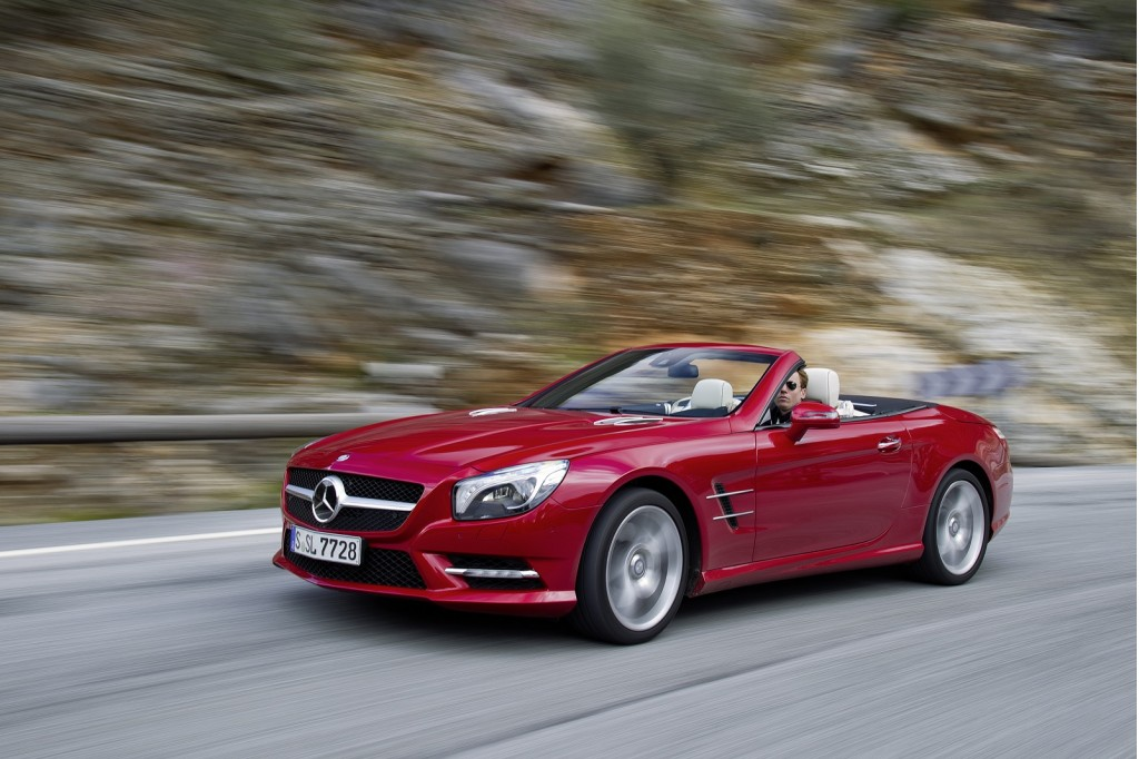 2013 mercedes benz sl 550 first drive. Black Bedroom Furniture Sets. Home Design Ideas