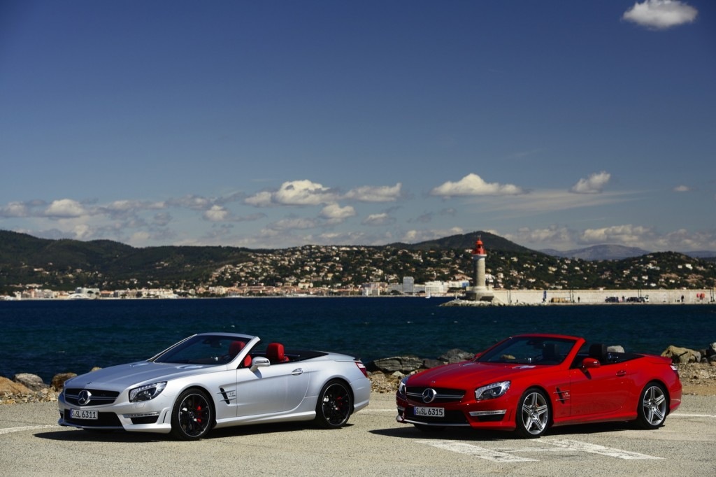 Chris harris tests the 2013 mercedes benz sl63 amg video for Mercedes benz of usa