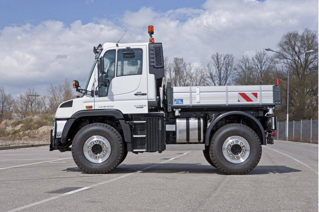 Mercedes Tough As Nails Unimog Gets New Look Engines For