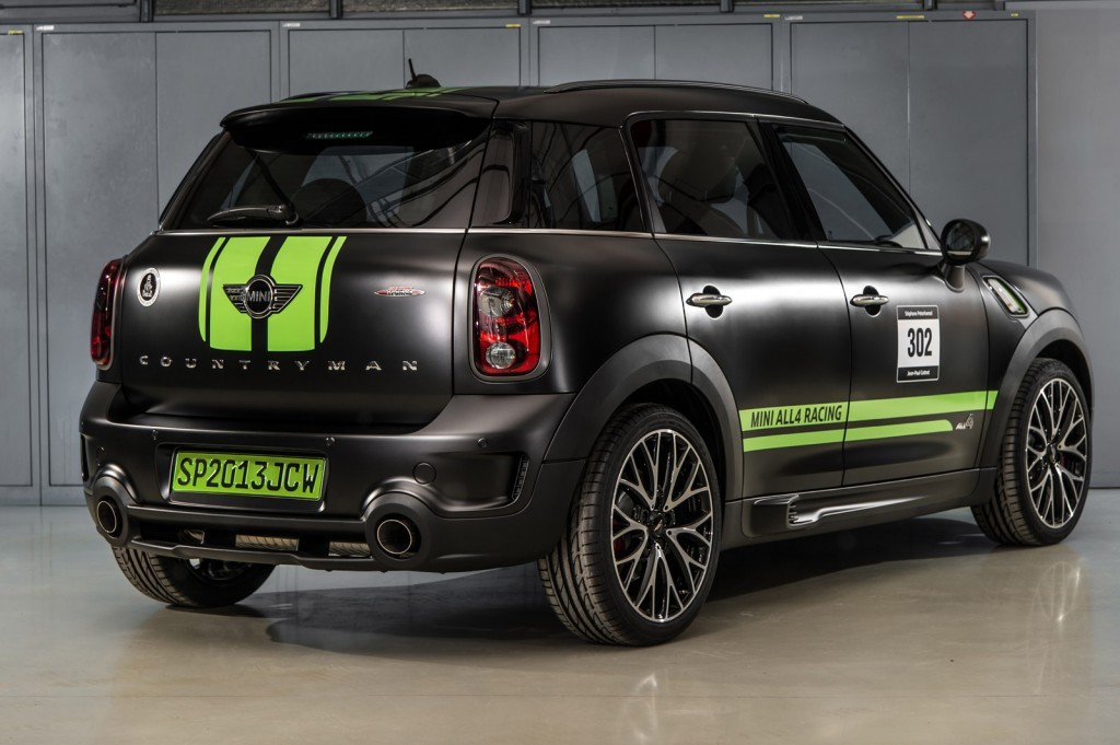 mini celebrates dakar win with special edition jcw countryman. Black Bedroom Furniture Sets. Home Design Ideas