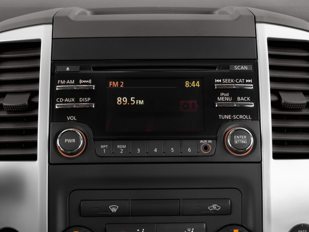 2014 nissan frontier radio removal