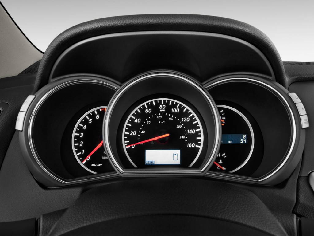 image 2013 nissan murano 2wd 4 door s instrument cluster. Black Bedroom Furniture Sets. Home Design Ideas