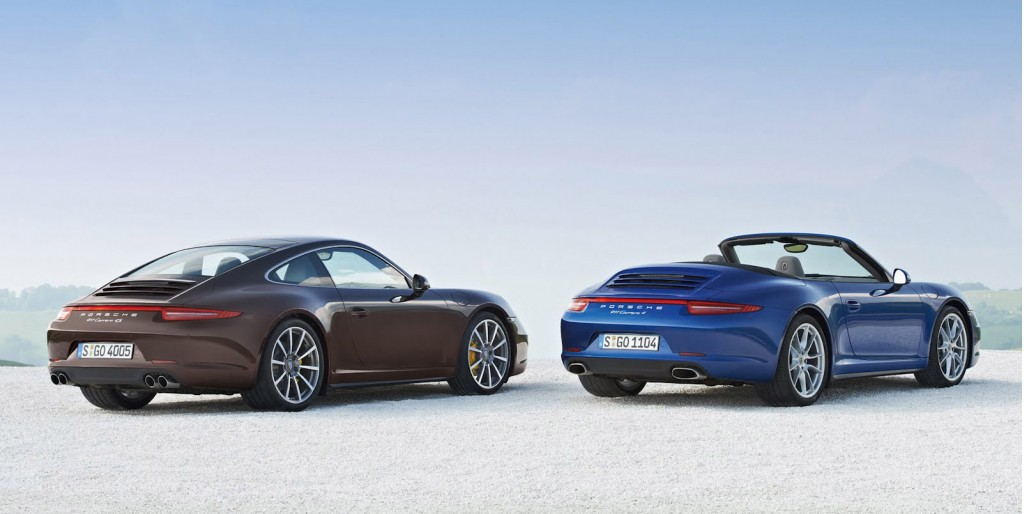 2013 porsche 911 carrera 4 all wheel drive models debut. Black Bedroom Furniture Sets. Home Design Ideas