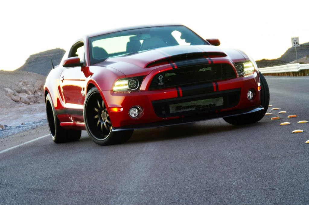 Shelby GT500 Super Snake With New Wide-Body Kit Debuts In Detroit