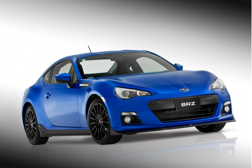 subaru previews new sti upgrades for the brz. Black Bedroom Furniture Sets. Home Design Ideas