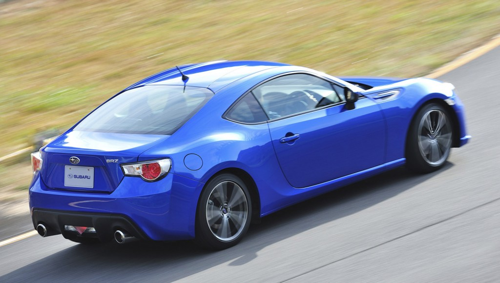 2013 subaru brz to be priced about the same as scion 39 s fr s. Black Bedroom Furniture Sets. Home Design Ideas