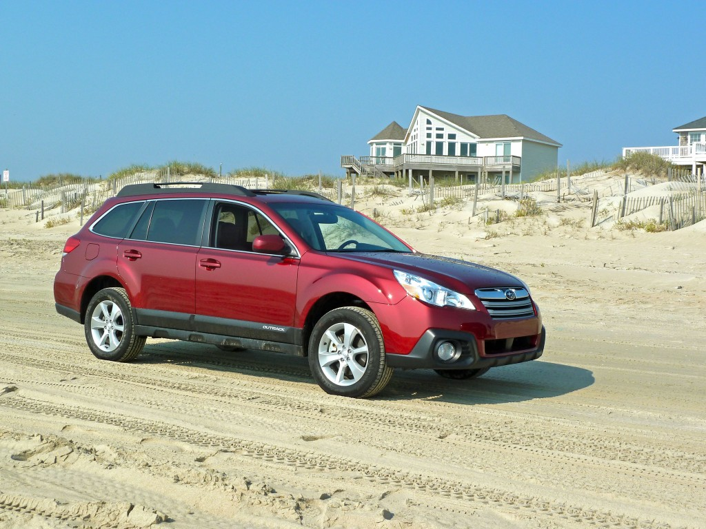 subaru eyesight 2013 outback outshines in outer banks. Black Bedroom Furniture Sets. Home Design Ideas
