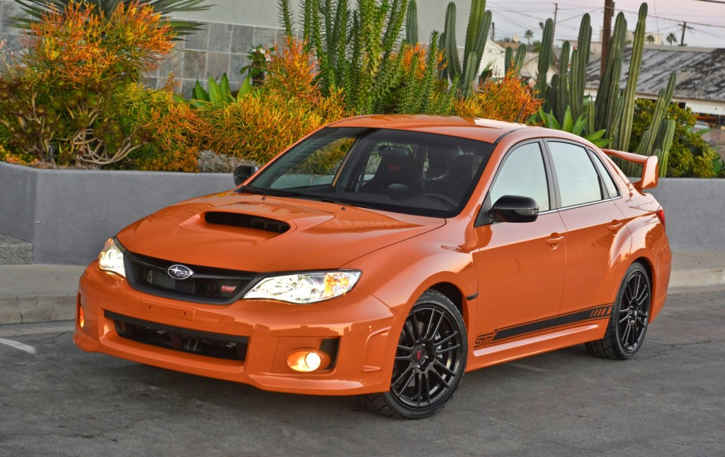 2013 Subaru WRX And STI Special Editions Put On Halloween Colors For