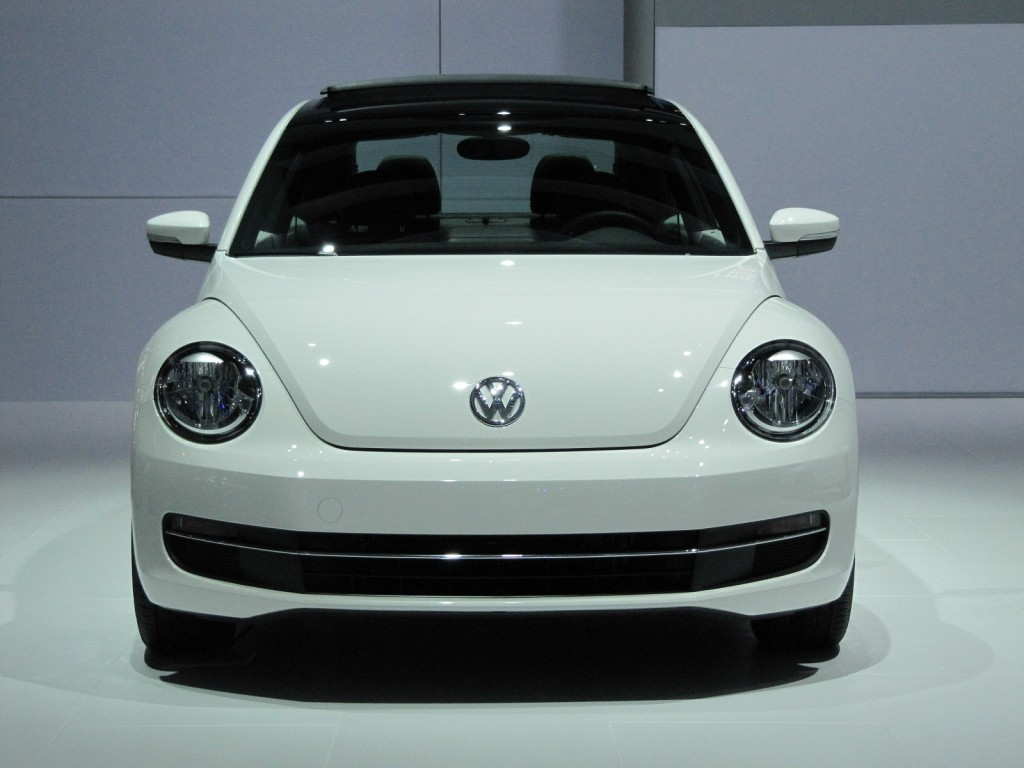 2013 Volkswagen Beetle TDI, Chicago Auto Show, Feb 2012