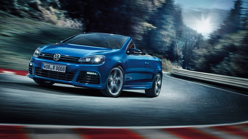 volkswagen golf r cabrio revealed ahead of 2013 geneva motor show. Black Bedroom Furniture Sets. Home Design Ideas