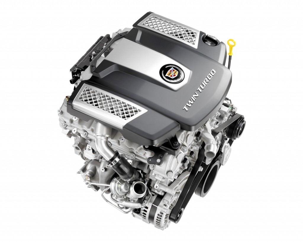 2014 Cadillac CTS To Get 420-HP Twin-Turbo V-6 Engine: Video