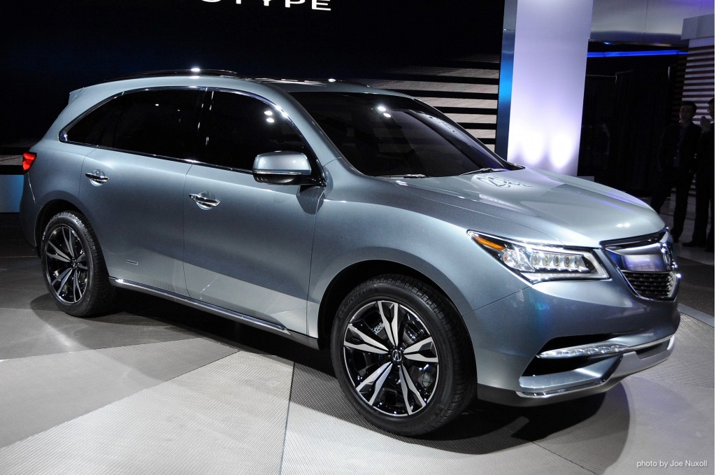 2014 acura mdx to debut in production trim in new york. Black Bedroom Furniture Sets. Home Design Ideas
