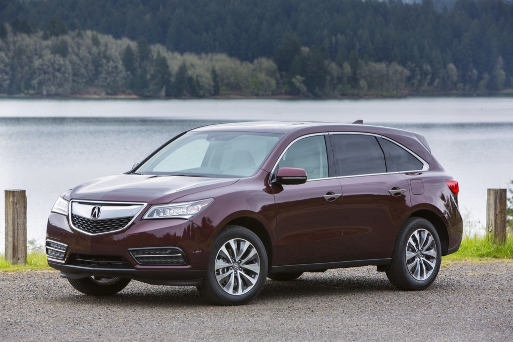 2014 acura mdx first drive page 2. Black Bedroom Furniture Sets. Home Design Ideas