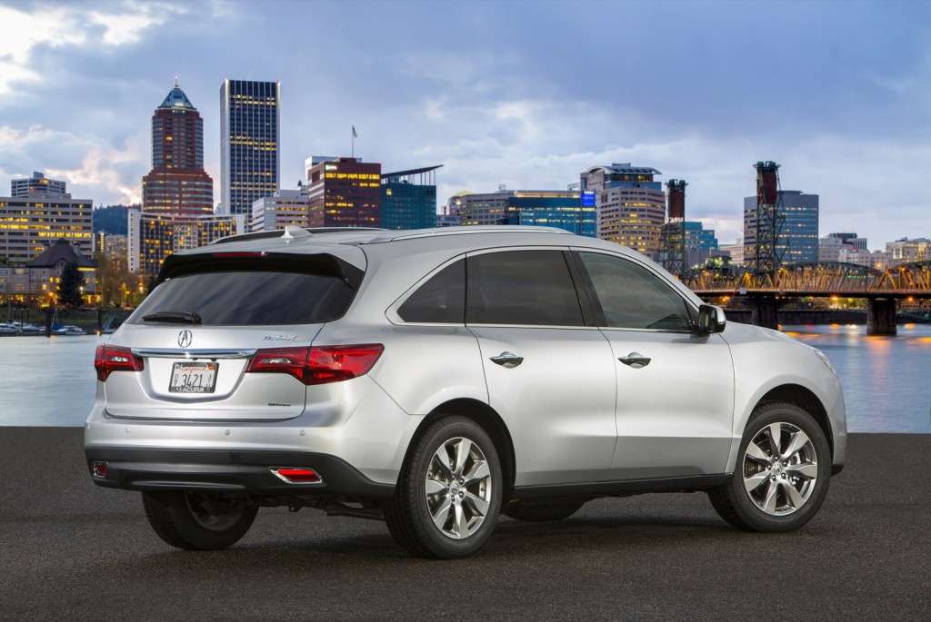 2014 acura mdx acura rdx earn five star crash test rating. Black Bedroom Furniture Sets. Home Design Ideas