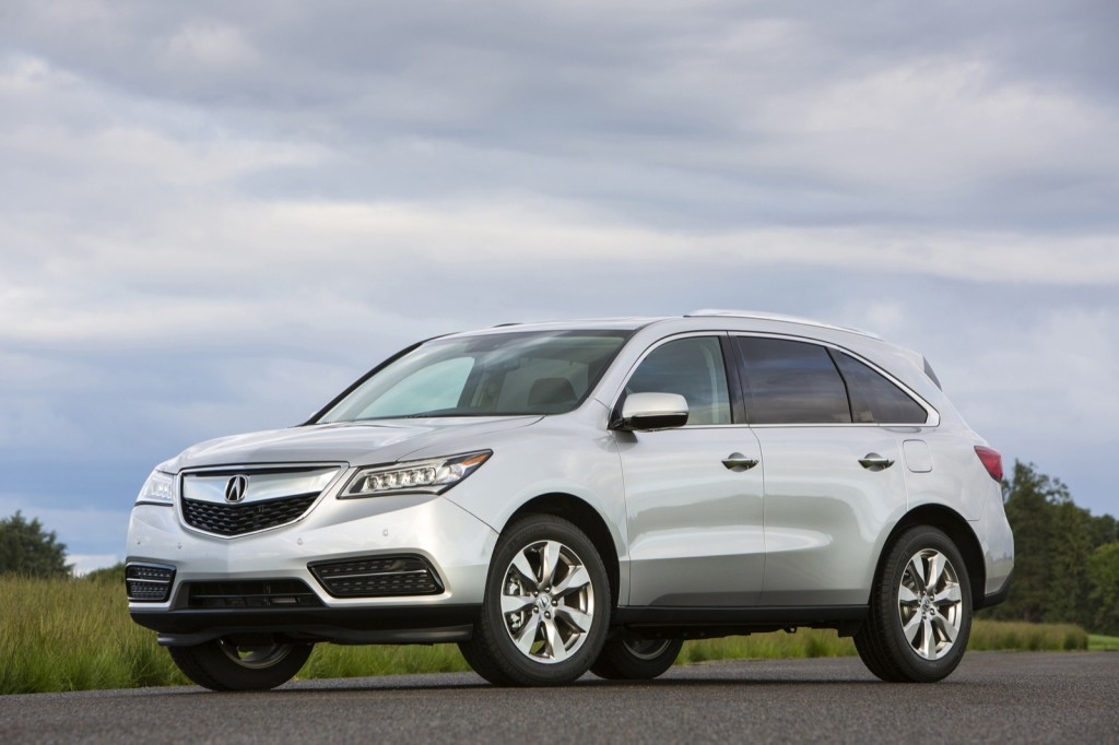 2014 Acura MDX Images.