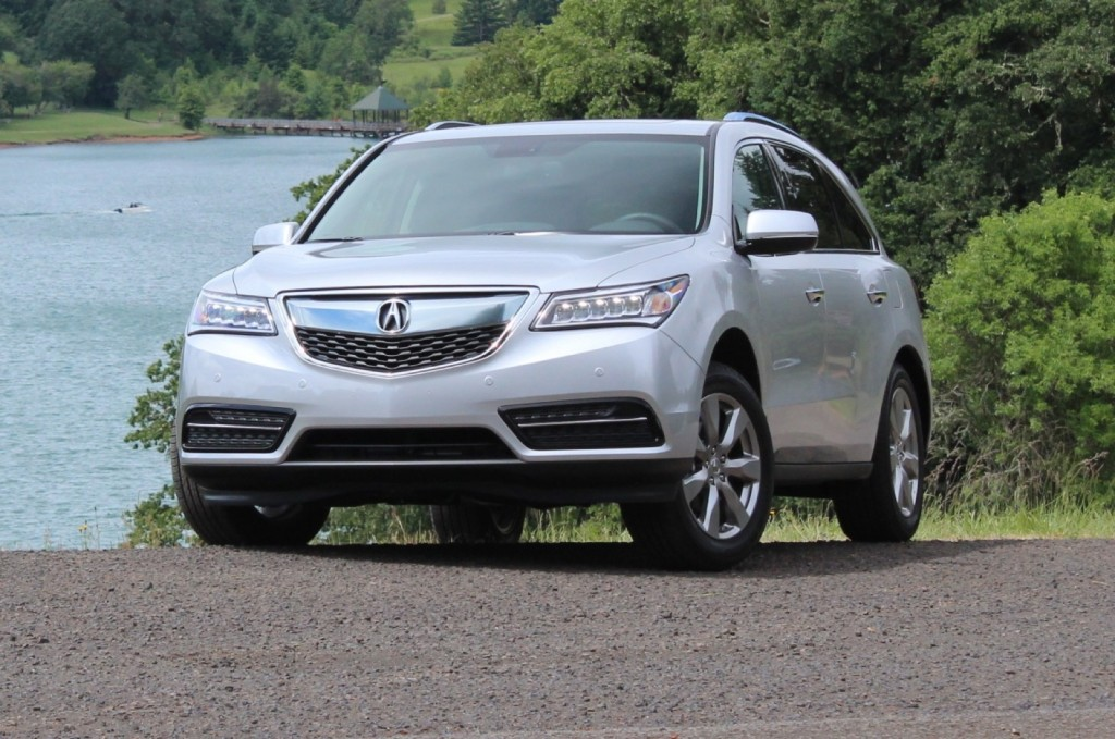 2014 acura mdx first drive. Black Bedroom Furniture Sets. Home Design Ideas