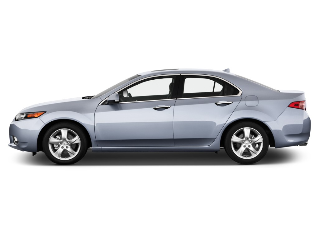 Image 2014 Acura Tsx 4 Door Sedan I4 Auto Side Exterior