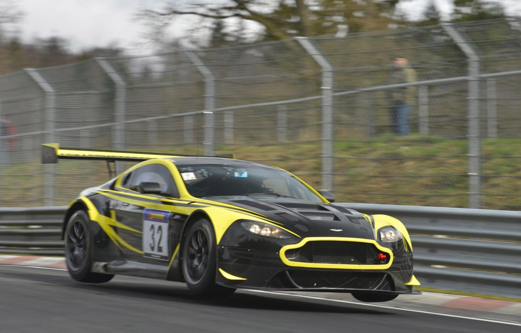 Aston Martin Prepares For 2014 N 252 Rburgring 24 Hours