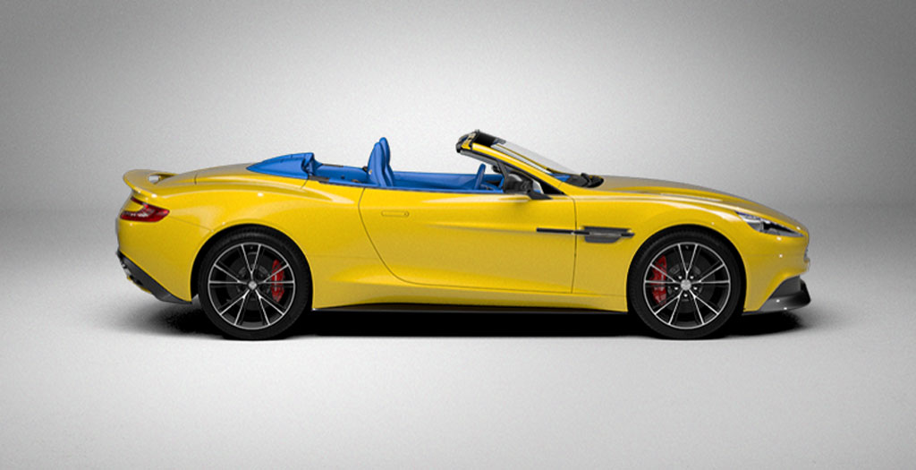 2014 aston martin vanquish volante online configurator 100431532. Black Bedroom Furniture Sets. Home Design Ideas