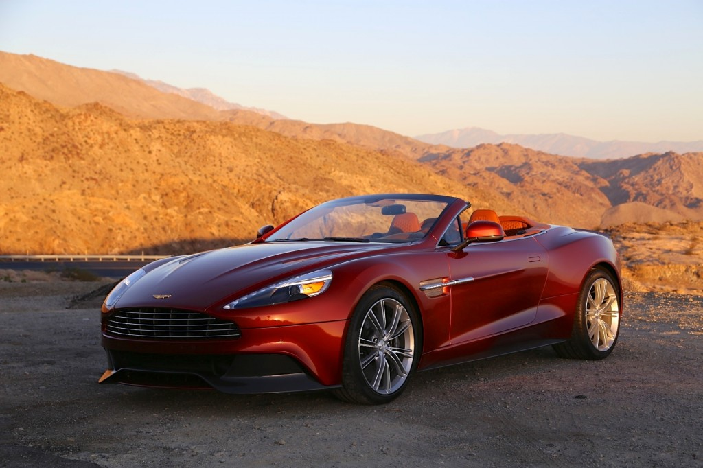 2014 aston martin vanquish volante first drive video. Black Bedroom Furniture Sets. Home Design Ideas