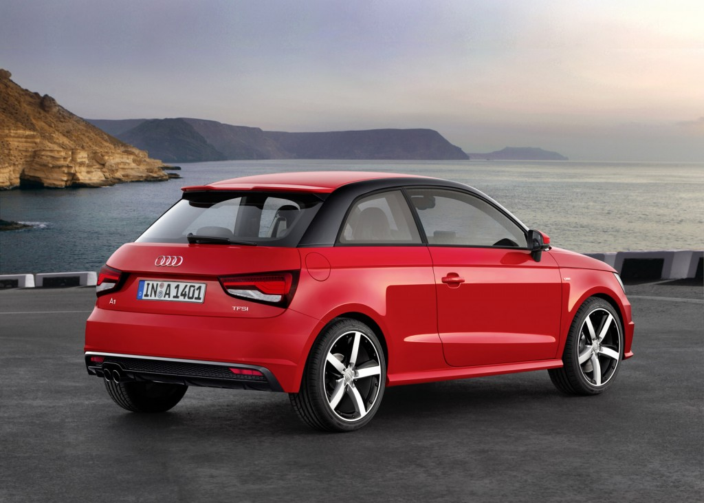 Audi Introduces Three-Cylinder Engines With 2014 A1