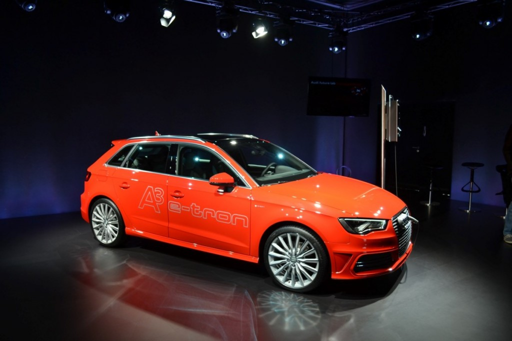 2014 audi a3 e tron full details on audi 39 s plug in hybrid. Black Bedroom Furniture Sets. Home Design Ideas