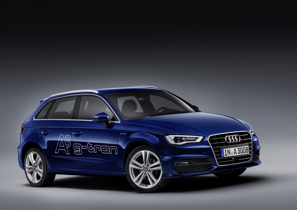 natural gas powered 2014 audi a3 g tron revealed. Black Bedroom Furniture Sets. Home Design Ideas