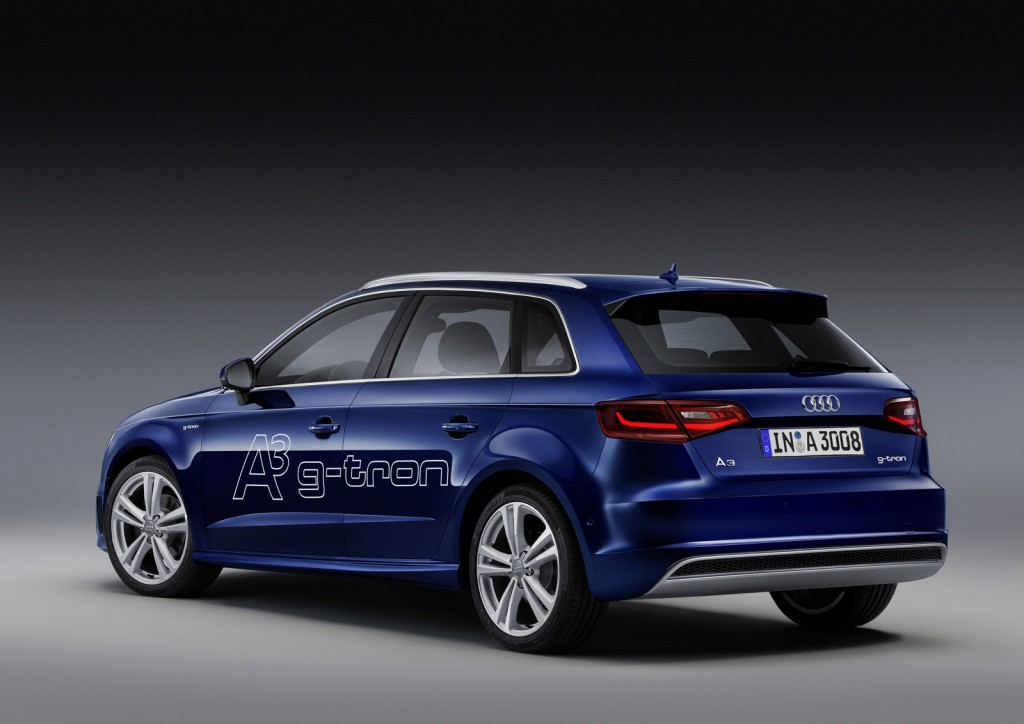 Audi a3 g tron natural gas compact debuts at geneva show