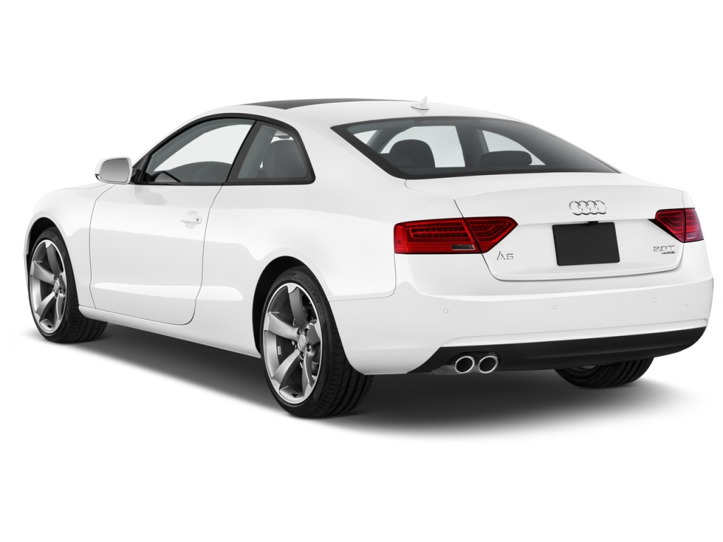 2014 Audi A5 2 Door Coupe Auto Quattro 2 0t Premium Angular Rear Exterior View