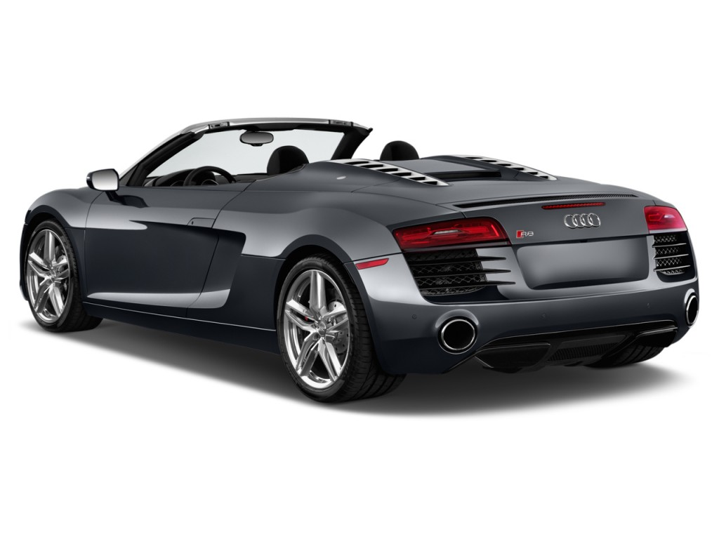 2014 audi r8 2 door convertible man quattro spyder v8 angular rear. Cars Review. Best American Auto & Cars Review