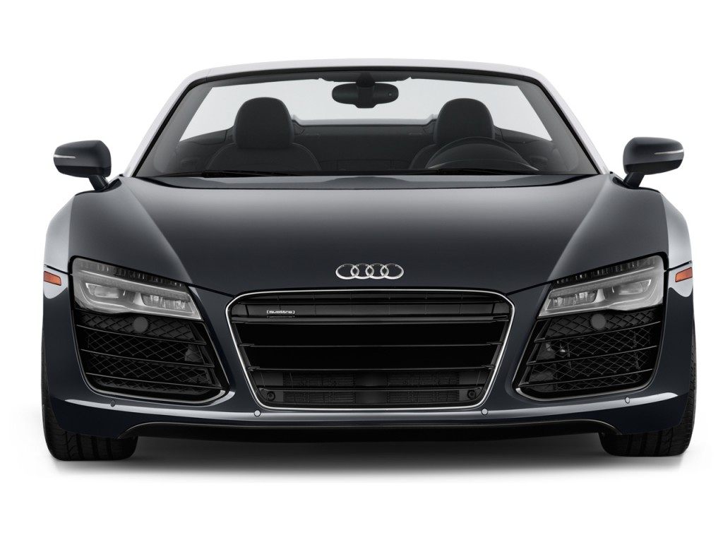2014 audi r8 2 door convertible man quattro spyder v8 front exterior. Cars Review. Best American Auto & Cars Review
