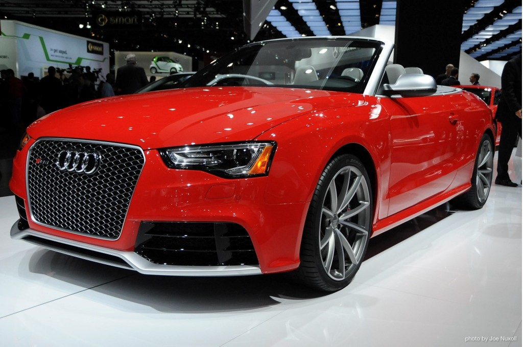 2014 audi rs 5 cabriolet priced from 77 900. Black Bedroom Furniture Sets. Home Design Ideas