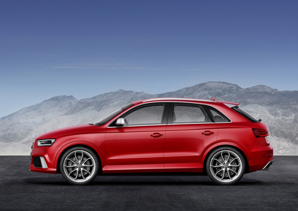 2014 audi rs q3 crossover revealed ahead of geneva motor show. Black Bedroom Furniture Sets. Home Design Ideas