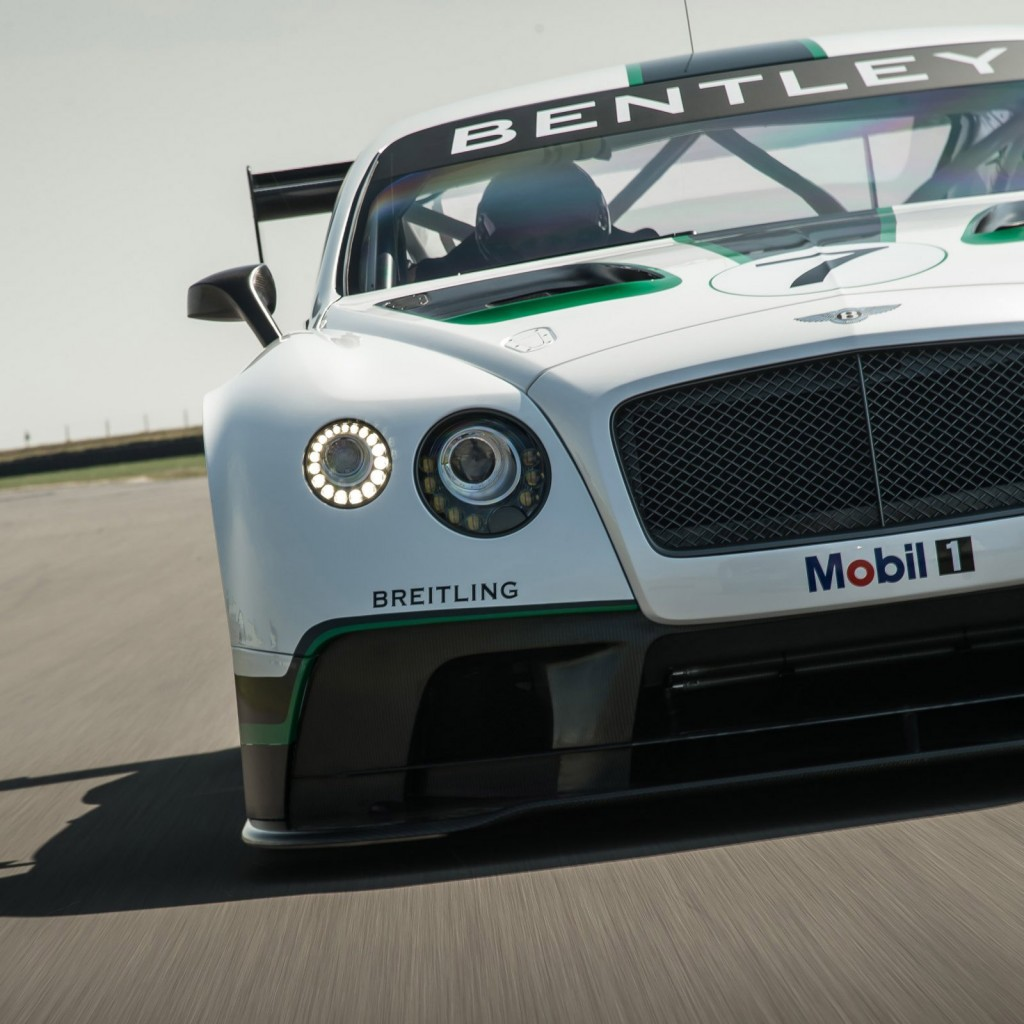 Bentley 2014: 2014 Bentley Continental GT3 Race Car Breaks Cover