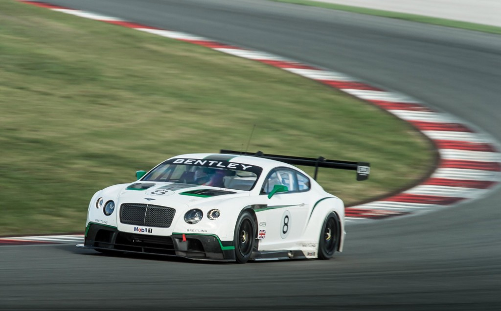 Bentley Signs First Customer For Continental Gt3 Race Car