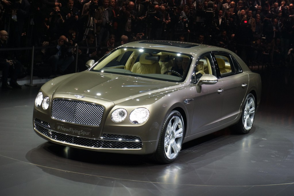 2014 Bentley Flying Spur Live From Geneva Gallery