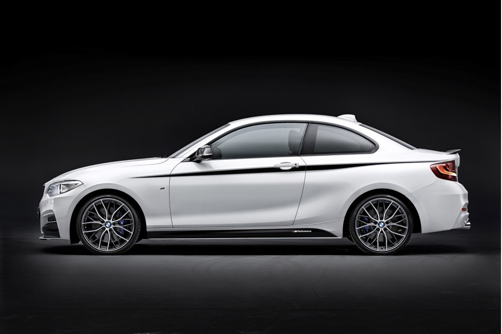 2014 Bmw 2 Series With M Performance Parts