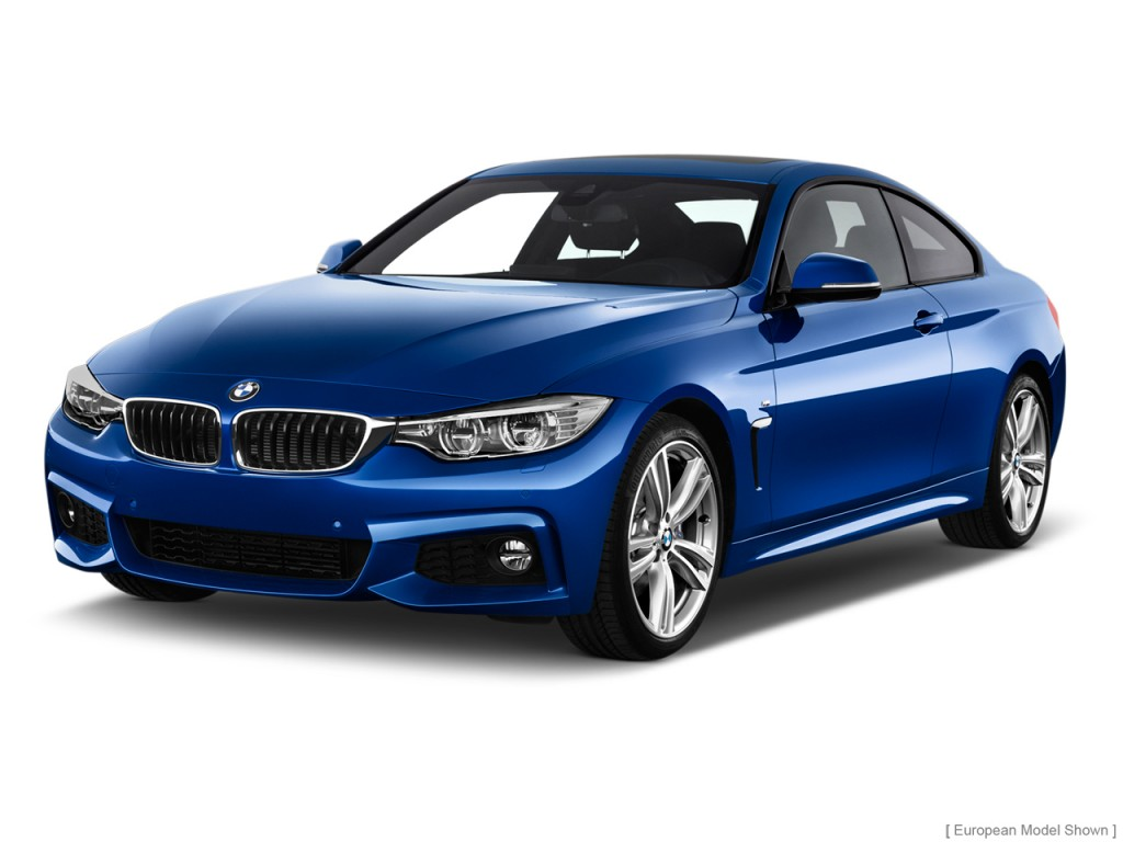2014 BMW 4 Series 2 door Coupe 428i RWD Angular Front Exterior View
