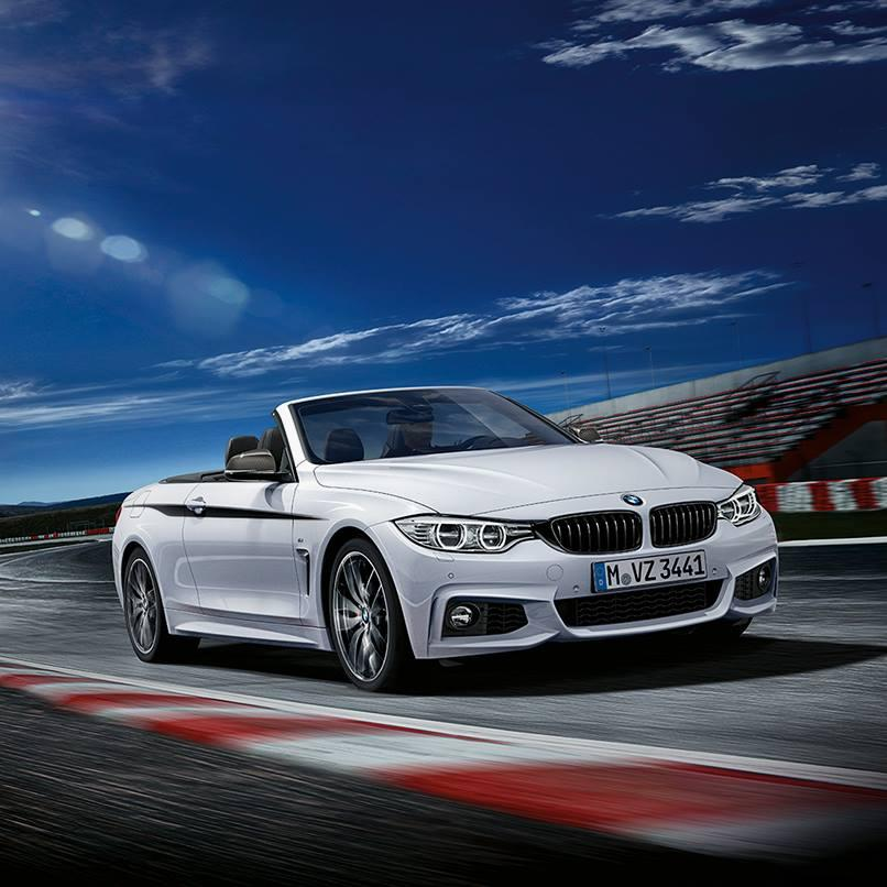 Bmw 4 Series Convertible To Get M Performance Parts