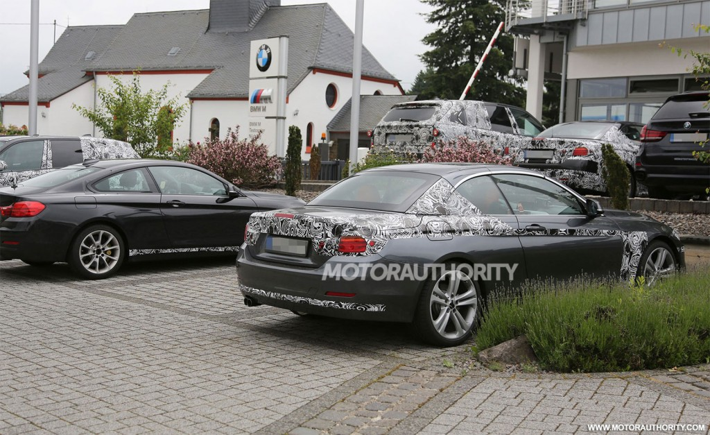 2014 bmw 4 series convertible spy shots. Cars Review. Best American Auto & Cars Review