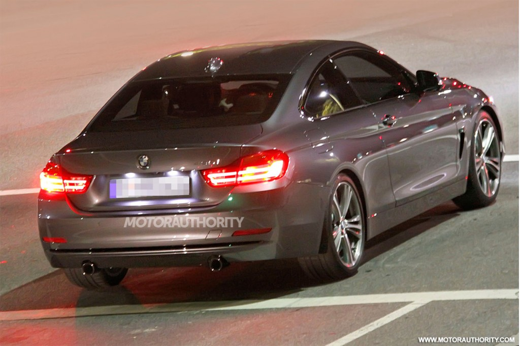 2014 bmw 4 series coupe spy shots. Black Bedroom Furniture Sets. Home Design Ideas