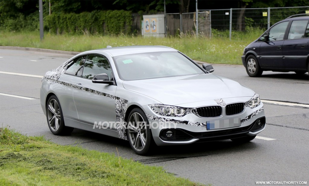 2014 bmw 4 series coupe spy shots. Cars Review. Best American Auto & Cars Review