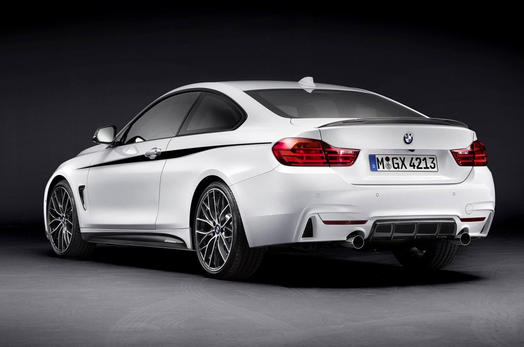 2014 Bmw 4 Series M Performance Parts Previewed