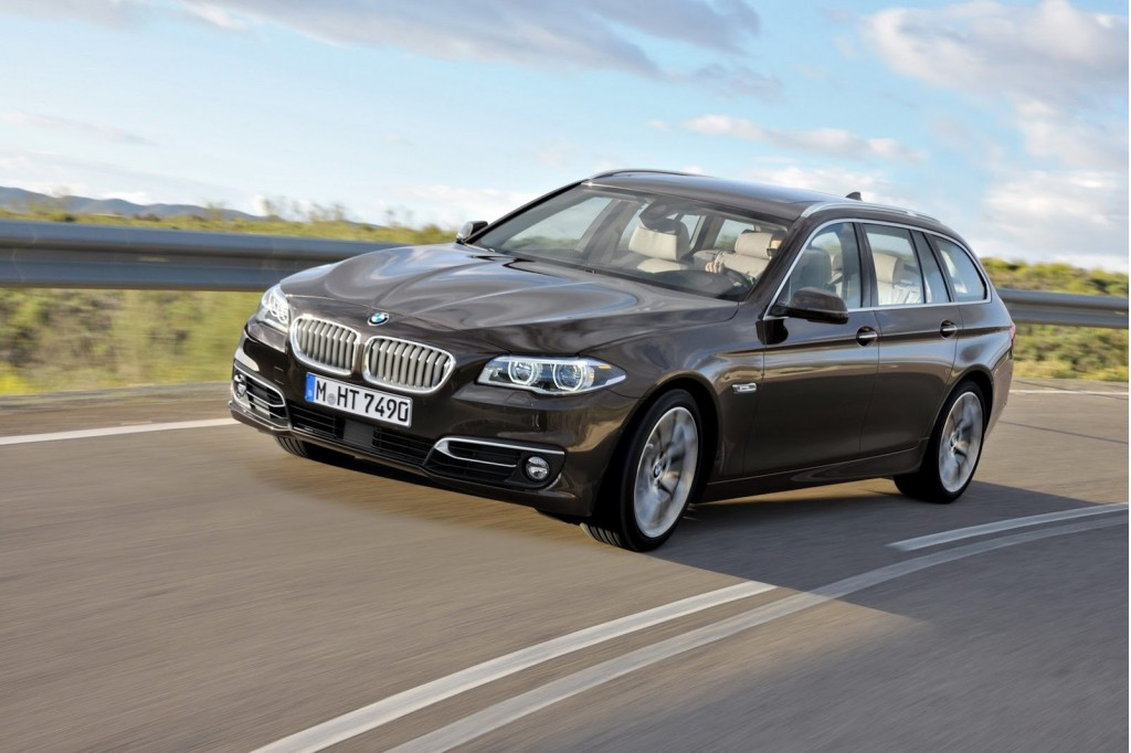 2014 bmw 5 series family on video. Black Bedroom Furniture Sets. Home Design Ideas