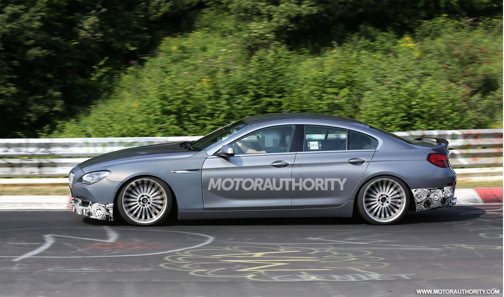 2014 bmw alpina b6 biturbo gran coupe spy shots. Black Bedroom Furniture Sets. Home Design Ideas